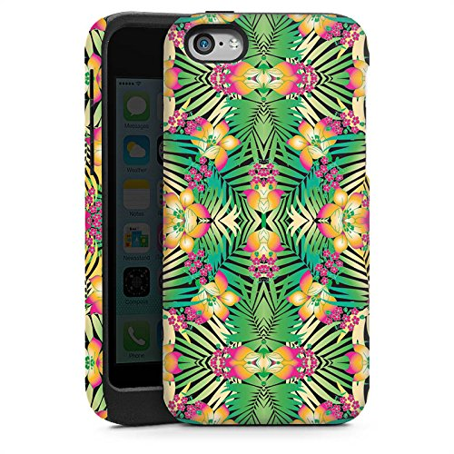 Apple iPhone 5 Housse étui coque protection Motif Motif Abstrait Cas Tough brillant