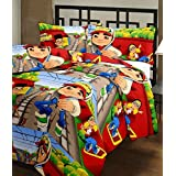 Shopnetix Subway Surfer Cartoon Print Single Bed Reversible Ac Blanket/Dohar For Kids