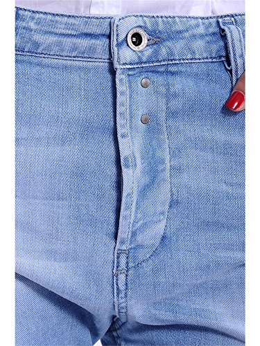 Diesel EAZEE 0839G delle signore di stirata Jeans Boyfriend Hellblau