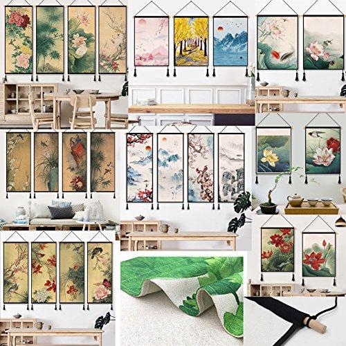 LUNA VOW Schöne hängende Malerei-Wand-Dekoration für Haus/Hotel / Restaurant (A96)