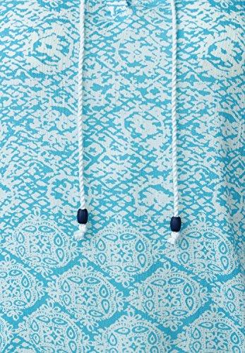 CECIL Damen Top mit Ornamentprint blue topaz (blau)