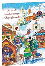 Crottendorfer Räucherkerzen - Adventskalender mit 24 Verschiedenen Räucherkerzen