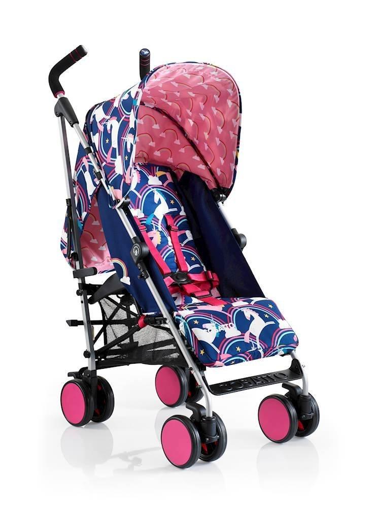 COSATTO Supa Go Stroller (Magic Unicorns) Cosatto Cosatto Supa Go The Streamlined Pushchair  From birth Onehanded recline  1
