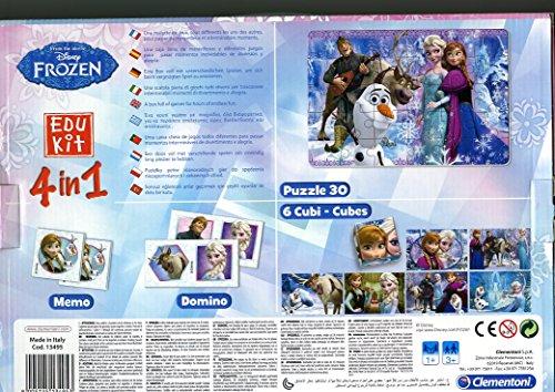 Clementoni-134953-Edukit-4-in-1-Frozen-Die-Eisknigin