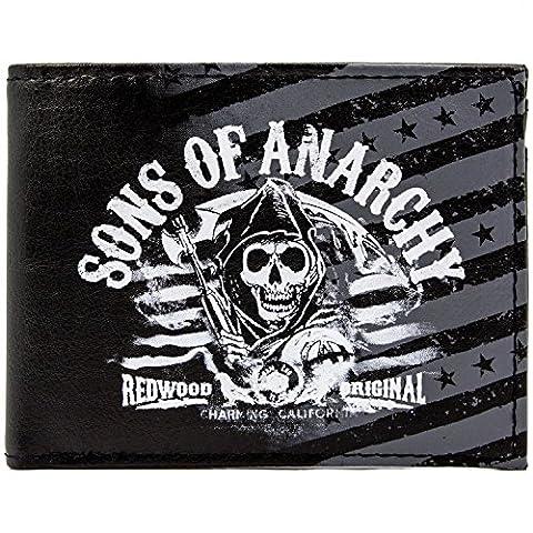 Fox Sons of Anarchy Séquoia Noir Portefeuille
