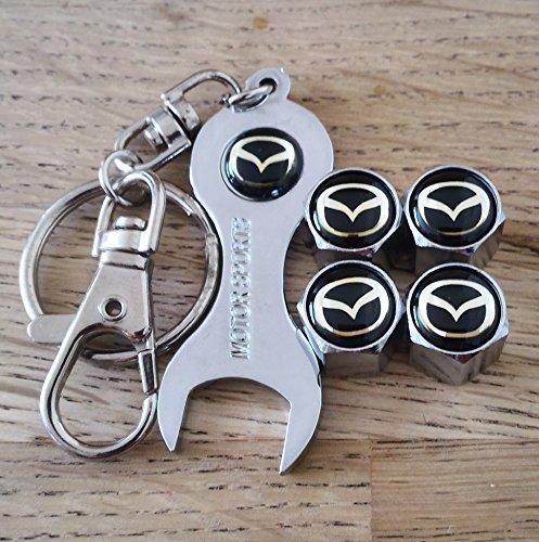 mazda-rueda-valvula-polvo-tapas-exclusivas-para-estados-unidos-con-cromo-llave-llavero-todos-los-mod