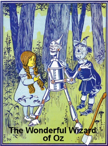 The Illustrated  Wonderful Wizard of Oz by L. Frank Baum (Illustrated) (English Edition)