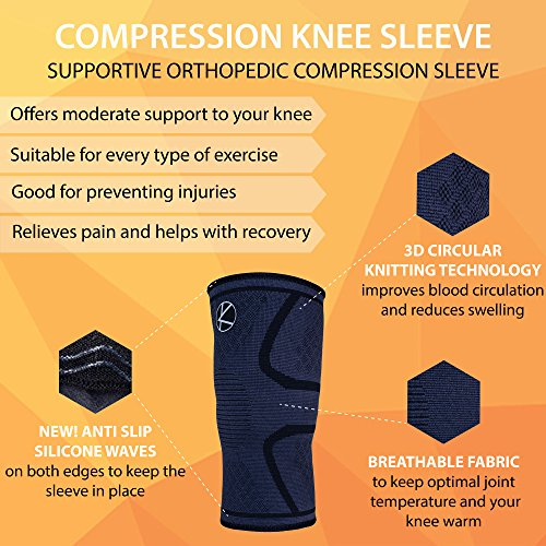 Knee-Support-Compression-Sleeve-Brace-for-Arthritic-Joint-Pain-Sport-Women-Men-Kid-Plus-Size