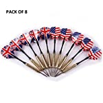 SLYK Professional Steel Tip Darts (Pack of 6) (Pack of 8) (Pack of 12)