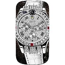 Estilo CALIENTE Ralph Lauren deportivos reloj personalizado plástico delgado personnalisée 3D funda L6M057 para Samsung Galaxy S3 mini_3D, compatible con Samsung Galaxy S3 Mini i8190, color multicolor