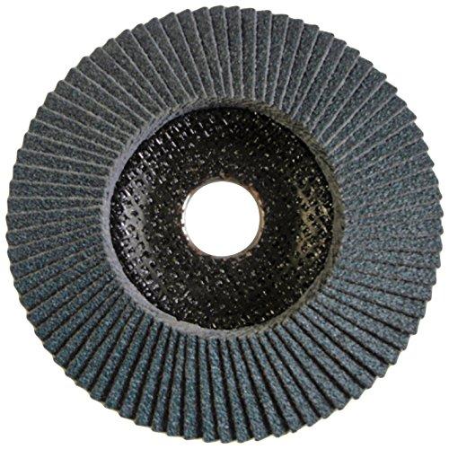 Sonnenflex, Set di ruote lamellari abrasive 125 x 22,23 mm, ZK 80 GG