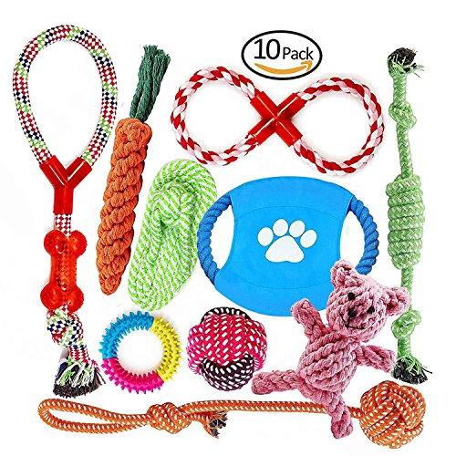 Welpenspielzeug, Hergestellt aus Natürlicher Baumwolle… | 00734010457232