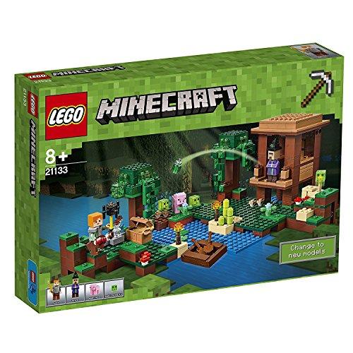 LEGO – 21133 – Minecraft – Jeu de Construction – La Cabane de la Sorcière