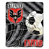 MLS DC United 50-Inch-by-60-Inch Sherpa on Sherpa Throw Blanket