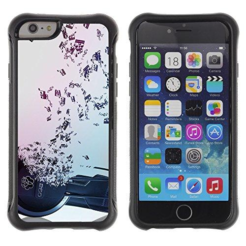 Graphic4You Amerikanisches Geld Design Shockproof Anti-Rutsch Weichen Hülle Case Tasche Schutzhülle für Apple iPhone 6 Plus / 6S Plus Design #11