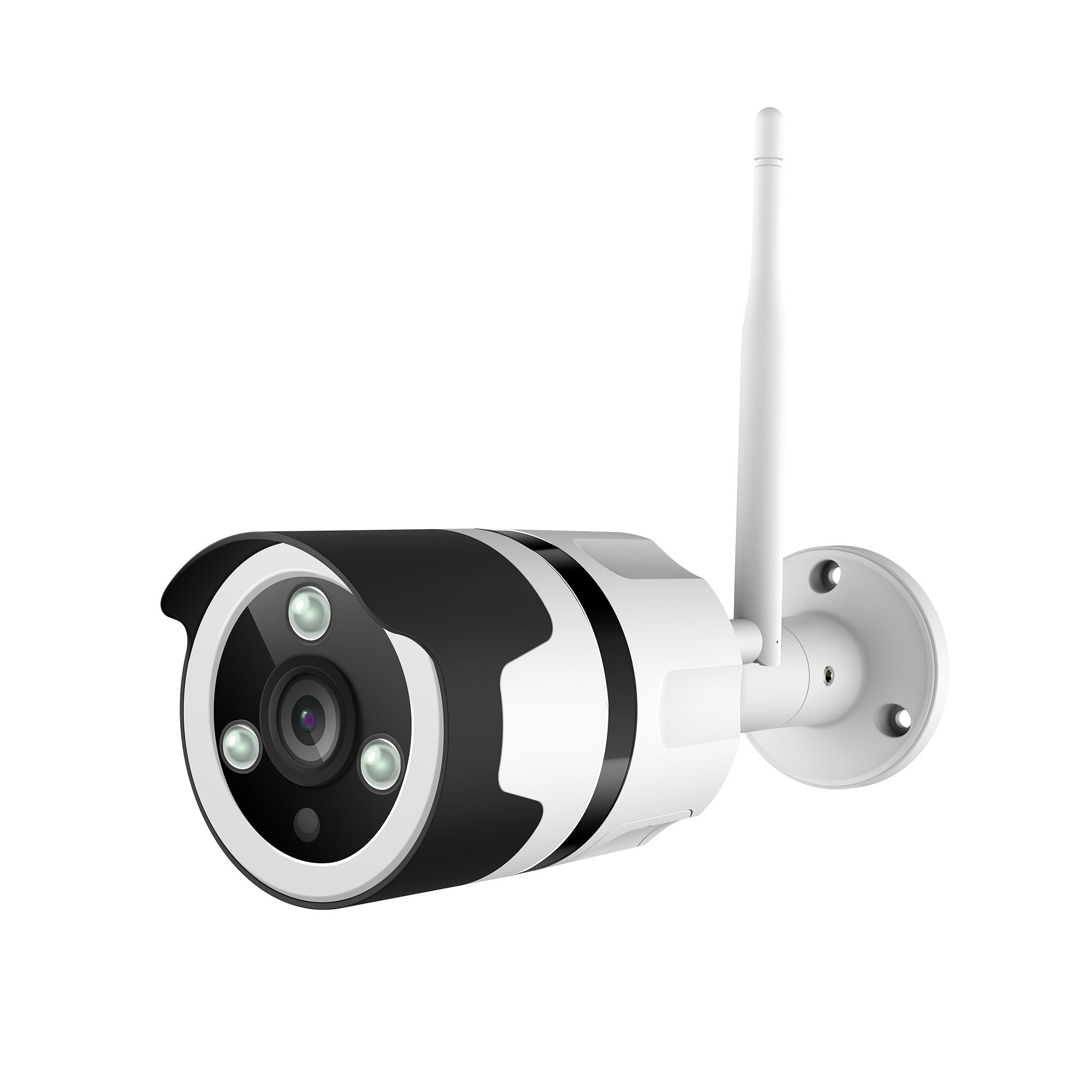 NETVUE Outdoor Security Camera 1080P Waterproof Wireless WiFi Bullet Camera IR Night Vision Survinence System Works with…