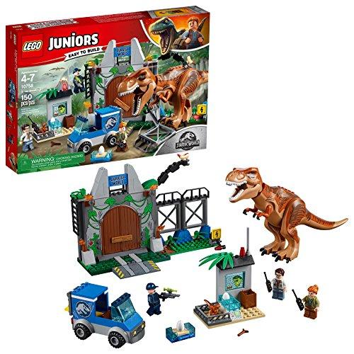 Lego Juniors L'evasione del Tirannosauro 10758 (150 Pezzi)