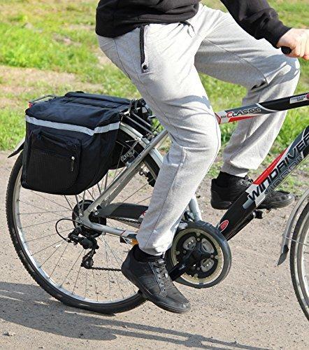 PoloMar Bicicleta de Equipaje Bolsa de Sillín...