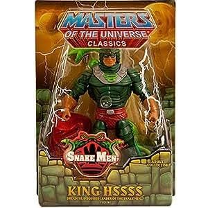 Masters of the Universe MotU Classics Figure: King Hssss