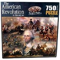 Comparador de precios American History The Revolutionary War in Historic Art Jigsaw Puzzle (750-Piece) by American Documents - precios baratos