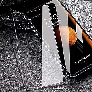 [5 Stück] Schutzfolie für iPhone XS Max [6.5 Zoll], Panzerglasfolie mit Positionierhilfe, 9H Härte, Anti-Kratzen, Anti-Öl, Anti-Bläschen, Hülle Freundllich, 2.5D Runde Kante