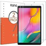 Amazon Brand - Eono [2 Piezas] Protector de Pantalla para Samsung Galaxy Tab A 10.1, Cristal Templado, Sin despegamiento, Sin