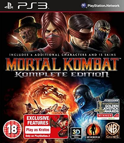 Warner Bros Personnages Costumes - Mortal Kombat - game of the year