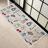 SUNFIRE Fußmatten Maschinenwaschbar Küche Teppiche rutschfeste Matte Teppich Indoor Outdoor Home Decor 45x 120cm