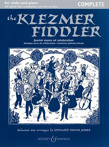 The Klezmer Fiddler: Festliche jüdische Musik. Violine (2 Violinen) und Klavier, Gitarre ad libitum. (Fiddler Collection)