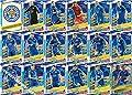 2016/17 Match Attax Champions League Leicester City Team Set 18 Cards