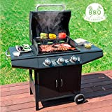 AGGAN Bbq classics - Barbacoa de gas con grill 1857k