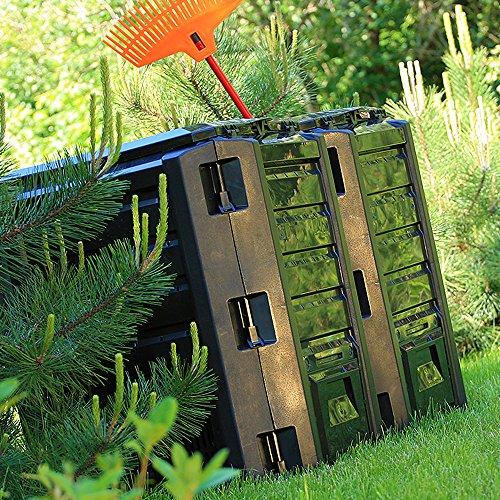Zoom IMG-3 deuba compostiera da giardino 380l