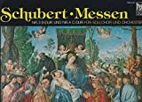 Schubert: Schubert Messen Nr. 3 B-dur D 324 und 4 C-dur D 452. Eva Csapó. Sylvia Anderson. Alejandro Ramirez. Spandauer Kantorei. Cappella vocale Hamburg. Bach-Collegium. LP Vinyl. FONO VOX FSM 53030