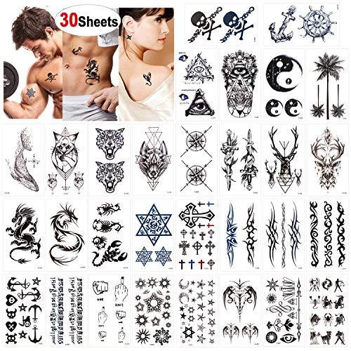 Konsait Tatuajes temporales adultos Mujer