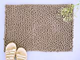 NestRoots Ultra soft Velvety Mouse Grey bath mats or floor mats - 16 X 24 Inches