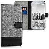 kwmobile Samsung Galaxy S7 Hülle - Kunstleder Wallet Case für Samsung Galaxy S7 mit Kartenfächern und Stand