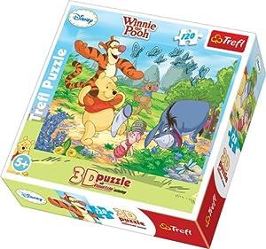 TREFL - Rompecabezas Winnie The Pooh Disney, 120 Piezas (TR35648)
