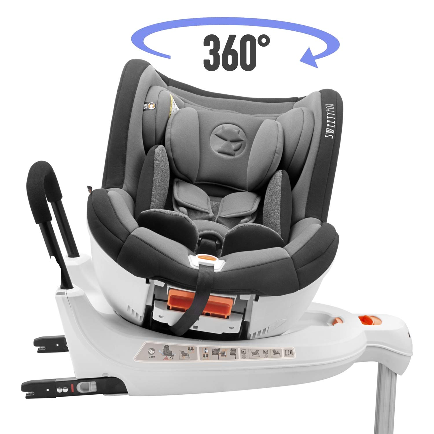 Car Seats & Accessories Baby Products Reclinable ECE R44/4 ...