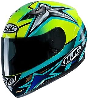 S Gris//Noir//Fluo Motorcycle helmets HJC FG-ST GRIDAN MC4H