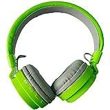 Praxan SH-12 Wireless Bluetooth Over the Ear Headset with Mic (Multicolour)