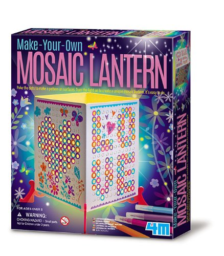 "4M ""Mosaic Lantern"" Make Your Own Craft (Multi-Colour)"