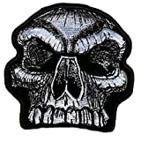 Hot Leathers, SKULL KNOB, Exceptional Quality Iron-On / - Best Reviews Guide