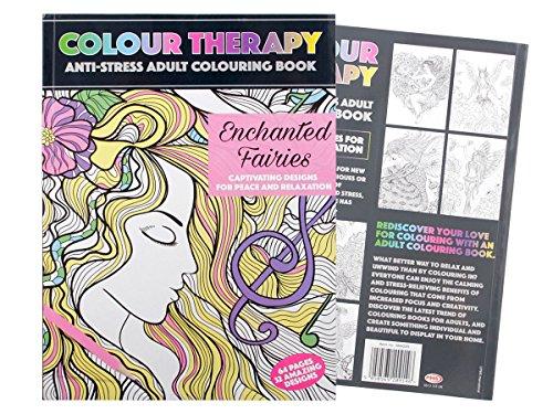 Alsino album da colorare | antistress adulti | tanti disegni belli e vari | terapia rilassante | relax | bambini |, marca p384020 fate