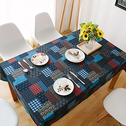 National wind table-cloth/ cotton and linen table cloths/Rectangular coffee table-cloth/