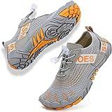 Rokiemen Zapatos de Agua para Niños Secado Rápido Antideslizante Zapatillas de Playa Piscina Natación Calzado Surf Buceo Snor