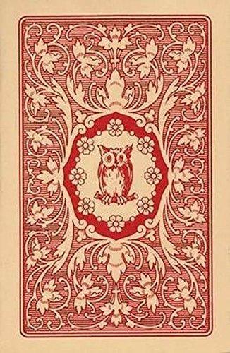 Lenormandkarten - Jugendstil Tarotkarten rote Eule