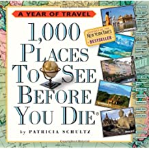 1,000 Places to See Before You Die 2012 Page-a-Day Calendar: 365 Days of Travel