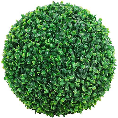 Fliyeong Planta Artificial Bola Decorativa Simulación Hierba Bola Verde Interior Centro de...