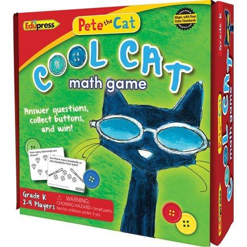 Pete the Cat Cool Cat Math Game, Kindergarten by Edupress