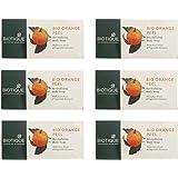 6 BIOTIQUE BIO ORANGE PEEL SOAP REVITALIZING BODY SOAP (150GM)